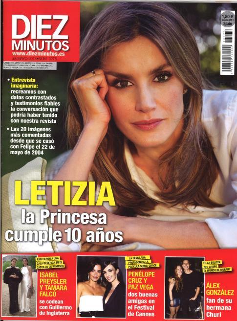 DIEZ MINUTOS portada 21 de Mayo 2014