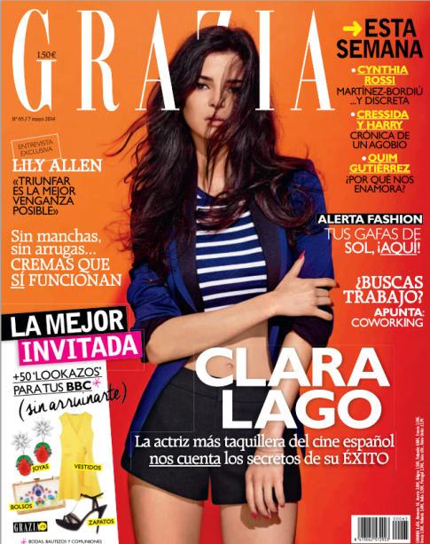 GRAZIA portada 7 de Mayo 2014