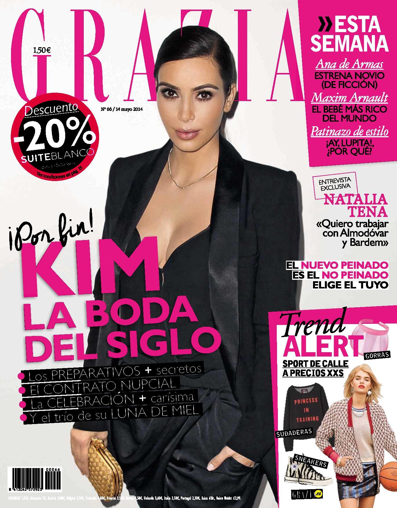 GRAZIA portada 14 de Mayo 2014