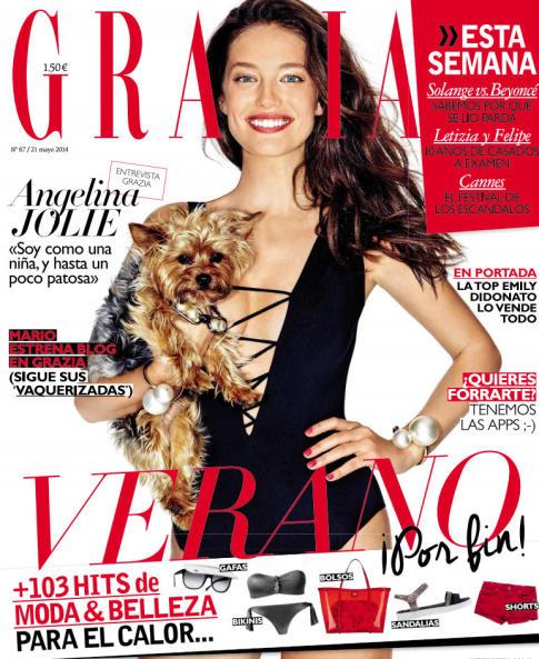 GRAZIA portada 21 de Mayo 2014