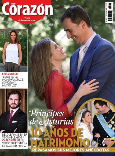HOY CORAZON portada 19 de Mayo 2014