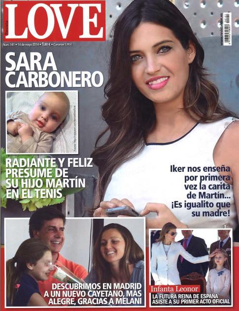 LOVE portada 7 de Mayo 2014