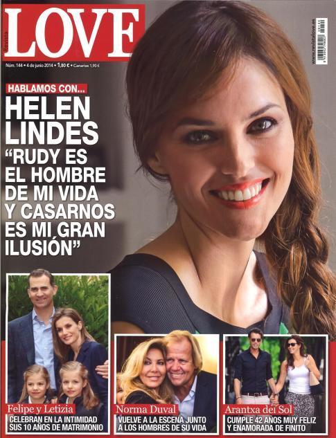 LOVE portada 28 de Mayo 2014