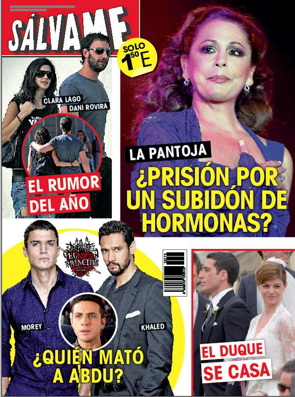 SALVAME portada 12 de Mayo 2014