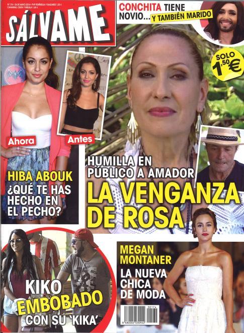 SALVAME portada 19 de Mayo 2014