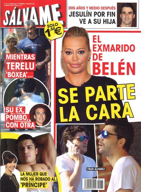 SALVAME portada 26 de Mayo 2014