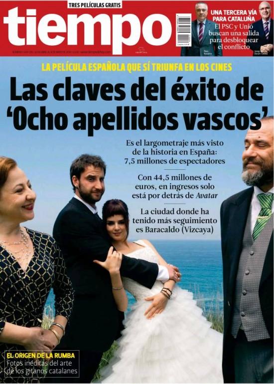 TIEMPO portada 4 de Mayo 2014