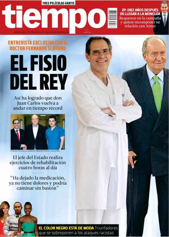 TIEMPO portada 11 de Mayo 2014