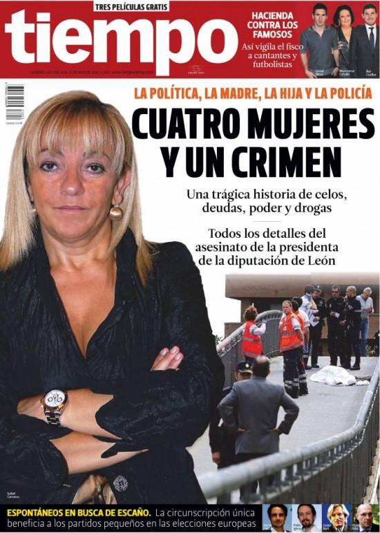 TIEMPO portada 18 de Mayo 2014