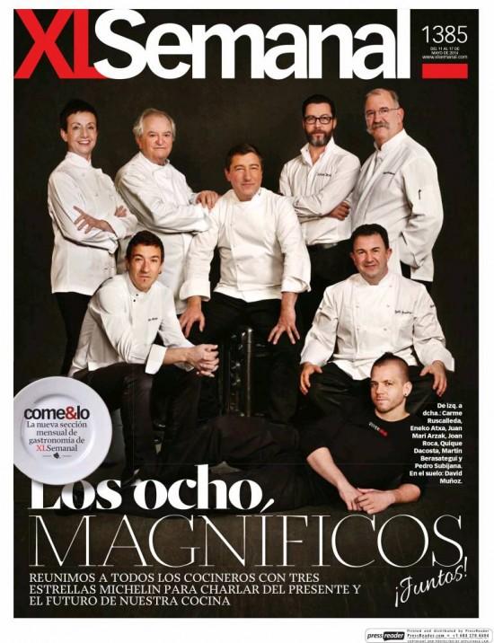 XL SEMANAL portada 11 de Mayo 2014