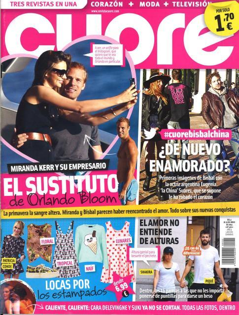 CUORE portada 4 de junio 2014