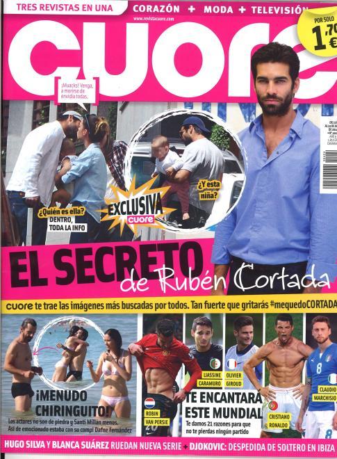 CUORE portada 18 de Junio 2014
