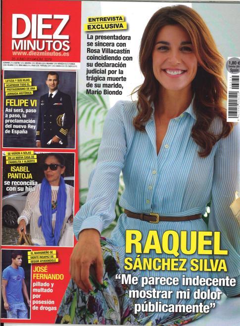 DIEZ MINUTOS portada 18 de Junio 2014