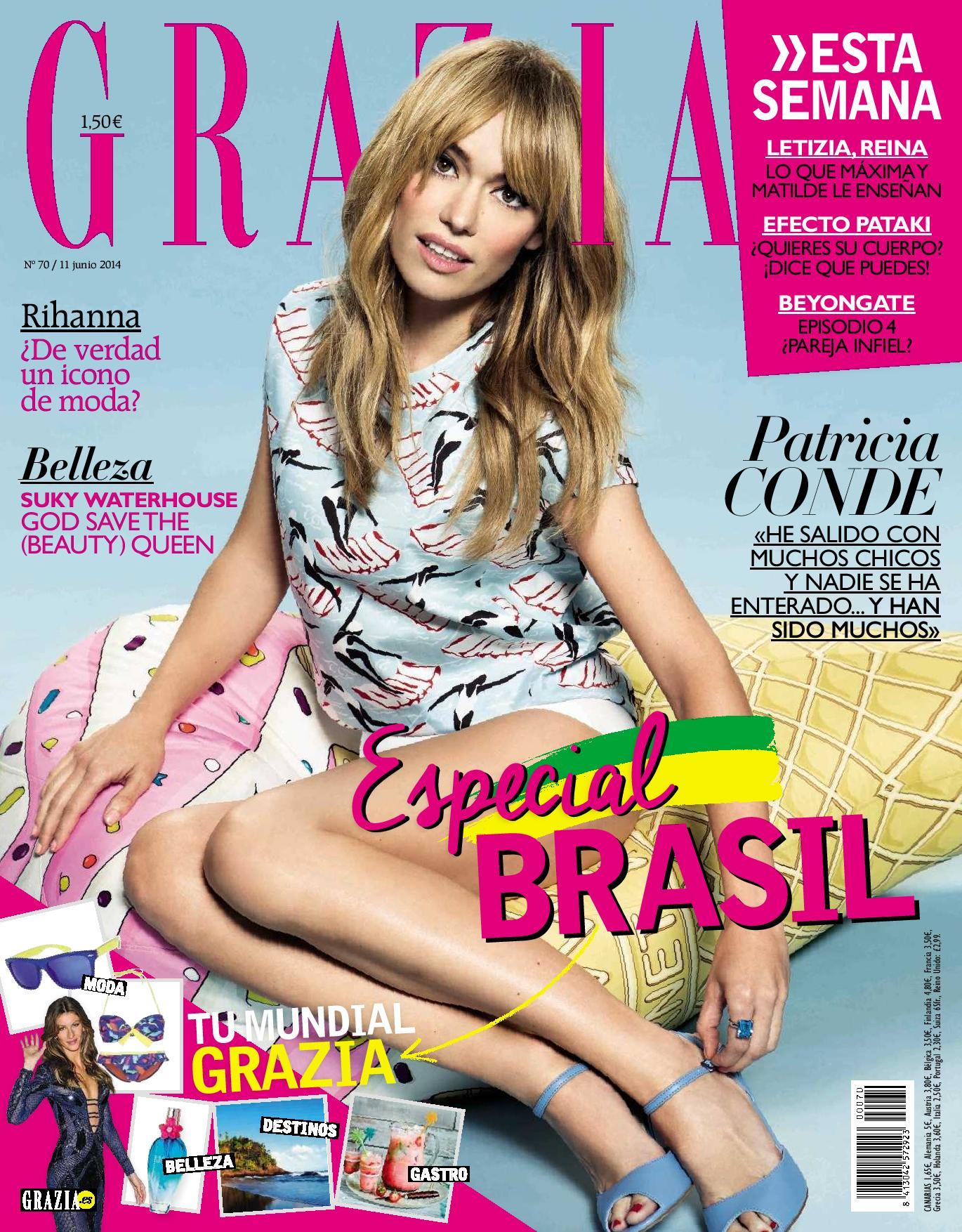 GRAZIA portada 11 de junio 2014