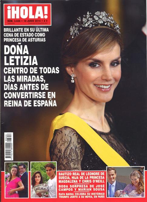 HOLA portada 11 de Julio 2014