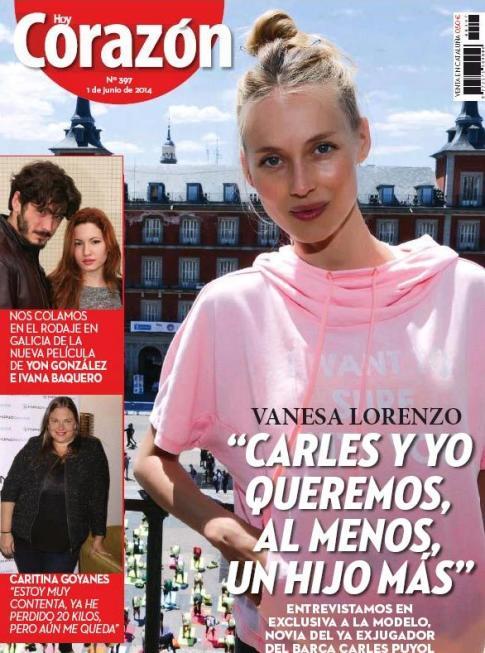 HOY CORAZON portada 2 de junio 2014