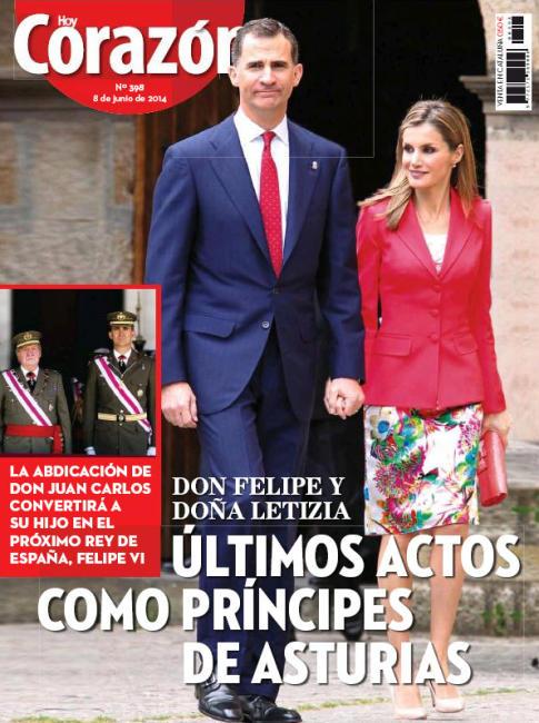 HOY CORAZON portada 9 de Junio 2014