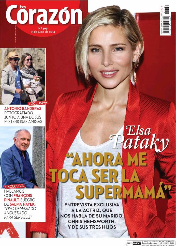 HOY CORAZON portada 15 de Junio 2014