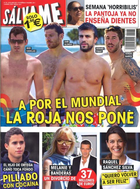 SALVAME portada 16 de Junio 2014