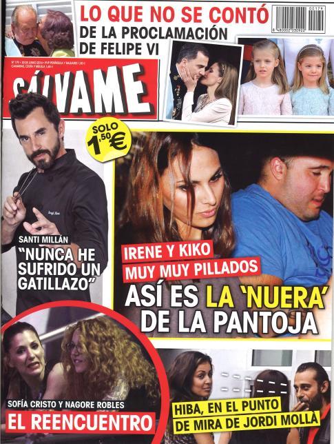 SALVAME portada 23 de Junio 2014