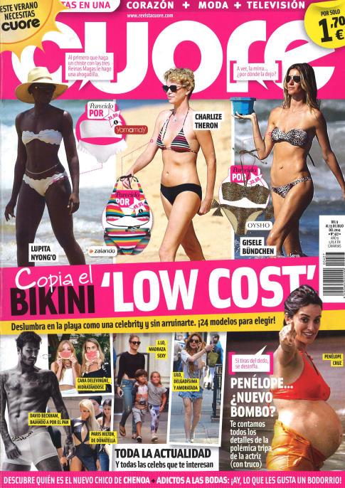 CUORE portada 9 de Julio 2014