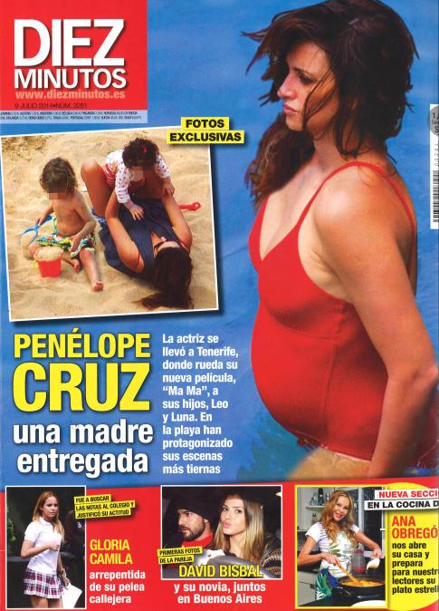 DIEZ MINUTOS portada 3 de Julio 2014