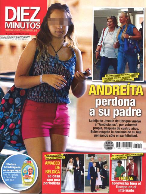 DIEZ MINUTOS portada 9 de Julio 2014