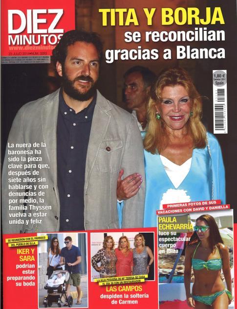 DIEZ MINUTOS portada 16 de Julio 2014