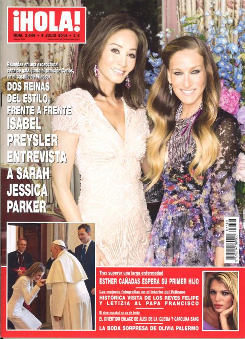 HOLA portada 3 de julio 2014