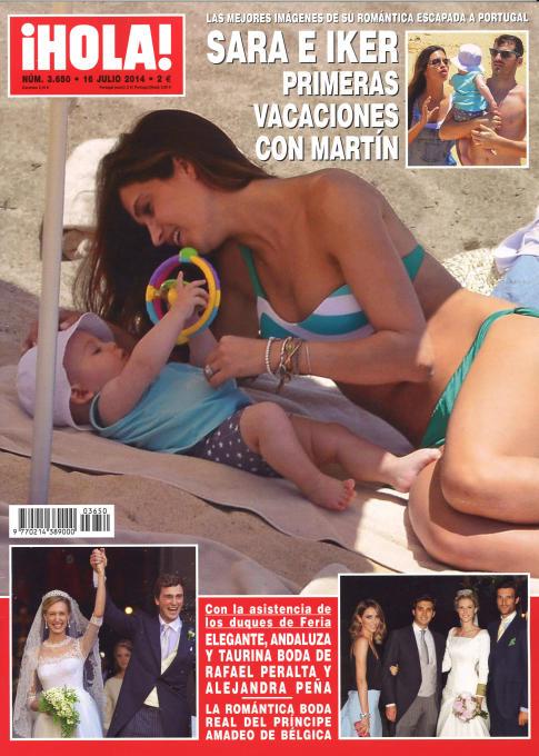 HOLA portada 9 de Julio 2014