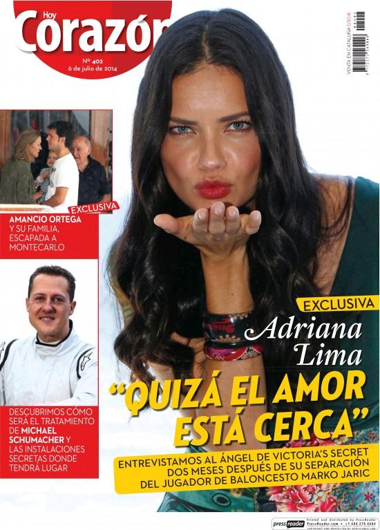 HOY CORAZON portada 12 de Julio 2014