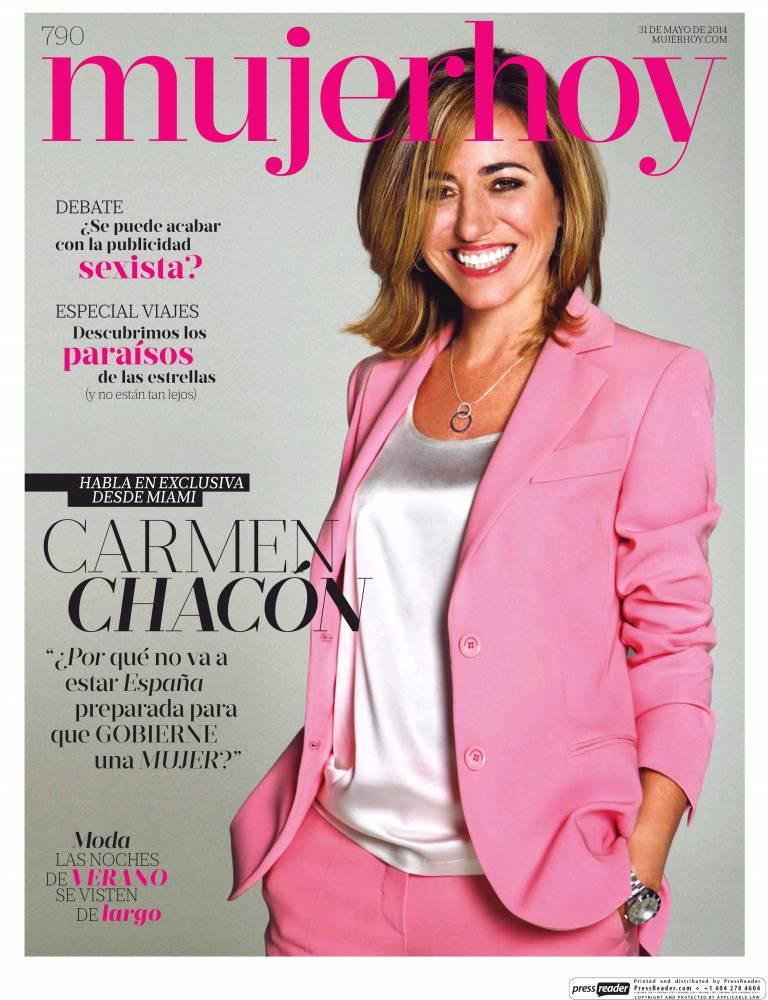 MUJER HOY portada 10 de Julio 2014