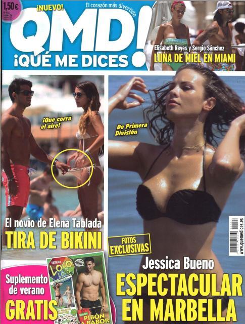 QUE ME DICES portada 30 de Junio 2014