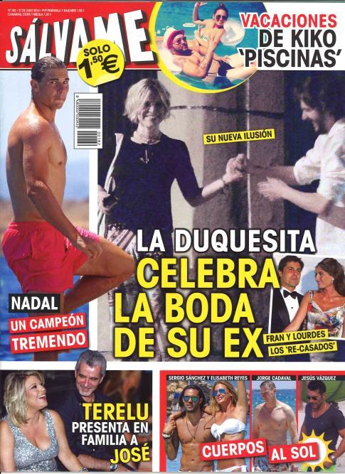 SALVAME portada 16 de Julio 2014