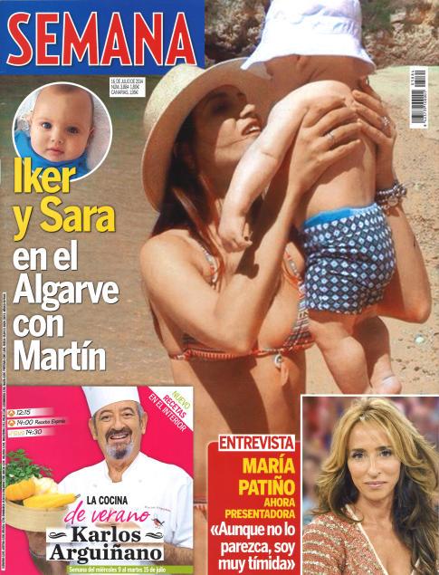 SEMANA portada 9 de Julio 2014