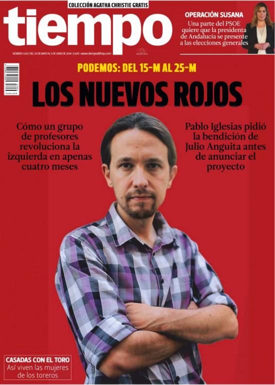 TIEMPO portada 10 de Julio 2014