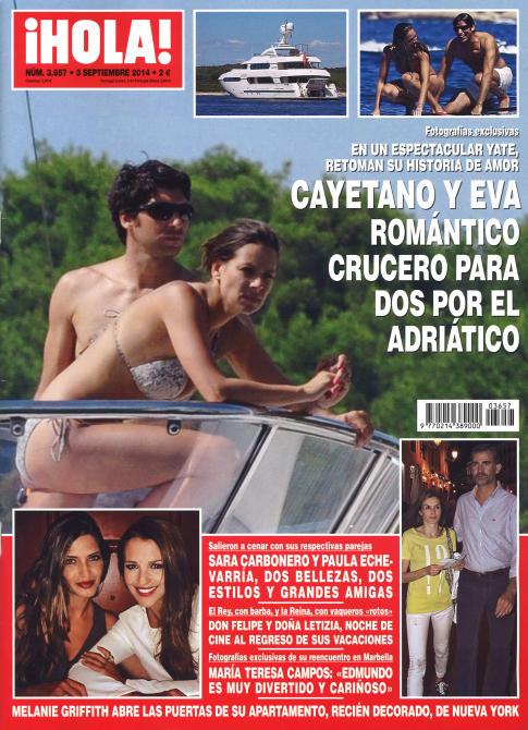 HOLA portada 27 de Agosto 2014