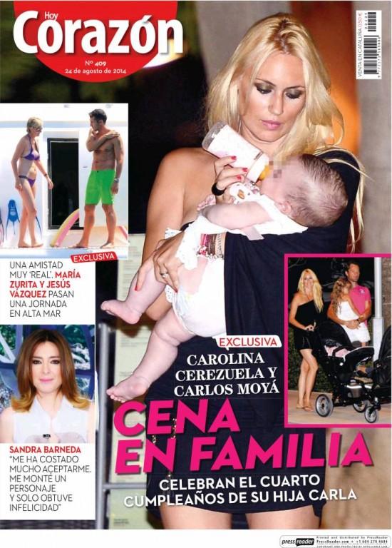 HOY CORAZON portada 25 de Agosto 2014