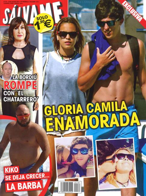SALVAME portada 18 de Agosto 2014