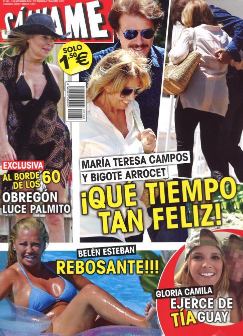 SALVAME portada 25 de Agosto 2014