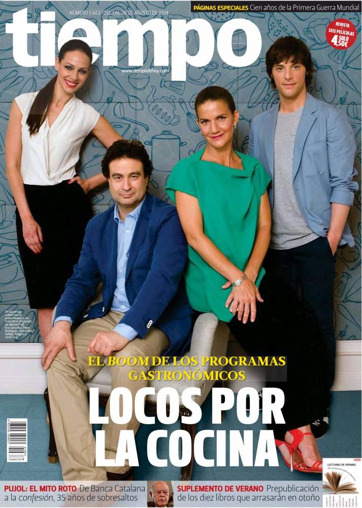 TIEMPO portada 24 de Agosto 2014