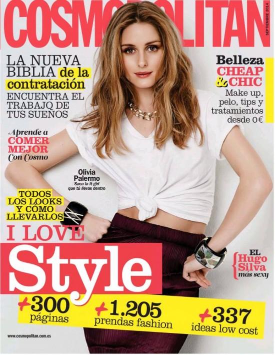 COSMOPOLITAN portada Septiembre 2014