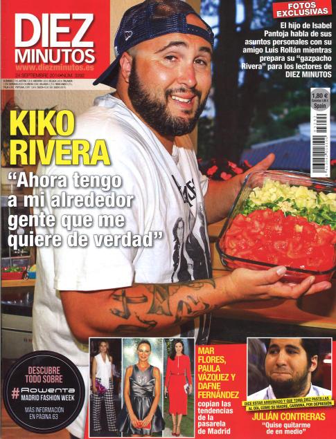 DIEZ MINUTOS portada 17 de Septiembre 2014
