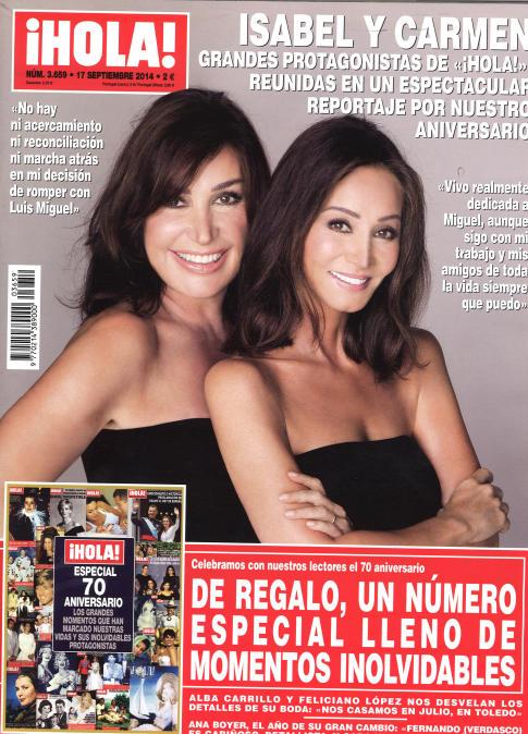 HOLA portada 10 de Septiembre 2014
