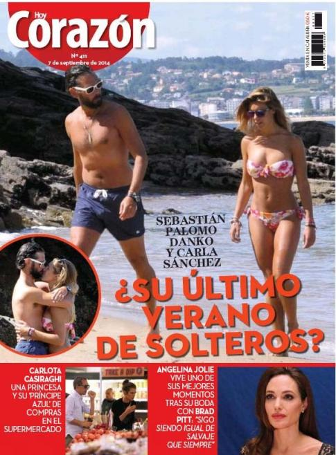 HOY CORAZON portada 8 de Septiembre 2014