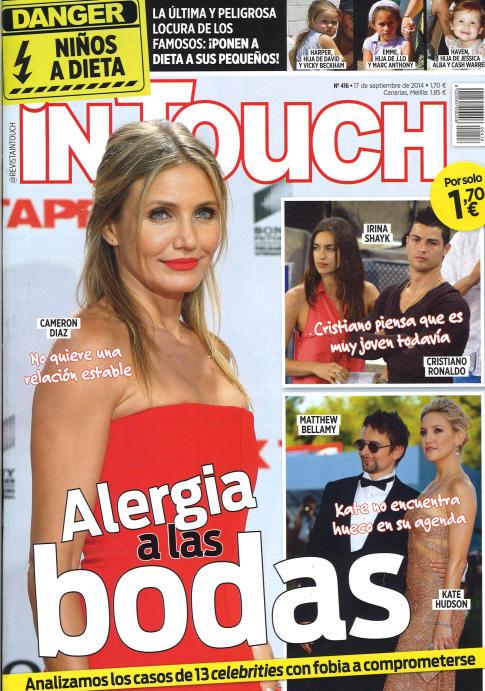 IN TOUCH portada 17 Septiembre 2014