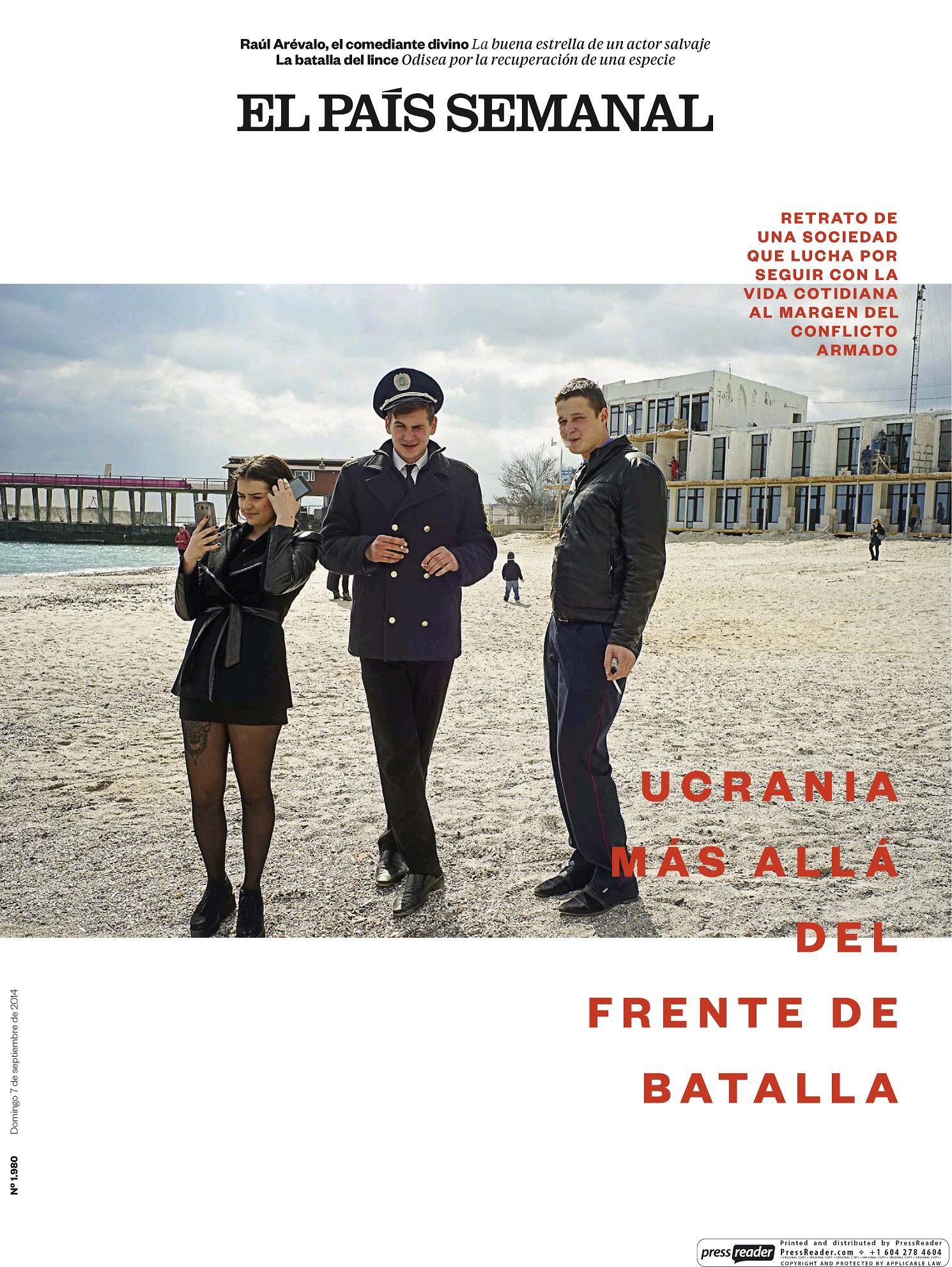 PAIS SEMANAL portada 8 de Septiembre 2014