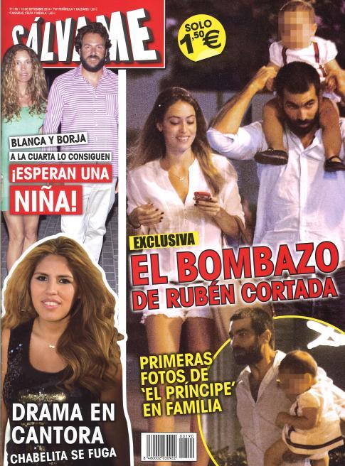 SALVAME portada 8 de septiembre 2014