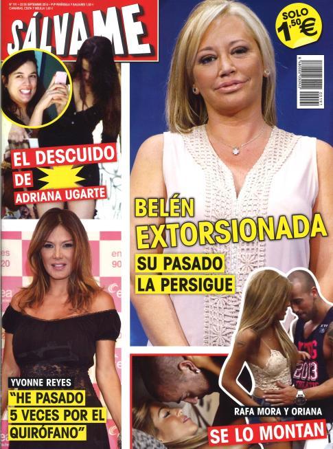 SALVAME portada 15 de Septiembre 2014