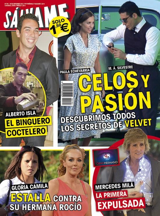 SALVAME portada 22 de Septiembre 2014